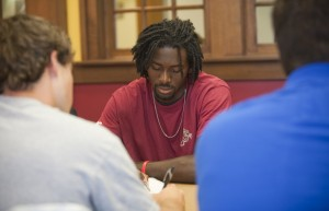 The Structured Study Program was designed and developed to encourage student-athletes to utilize their free time during the academic day to get ahead on studies and course work.